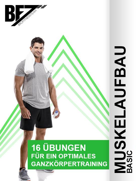 Fitnessplan Muskelaufbau